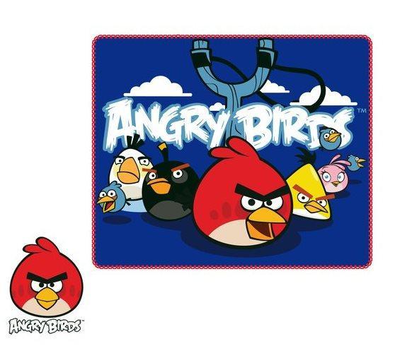 FLÍSOVÁ DEKA ANGRY BIRDS ho 4046
