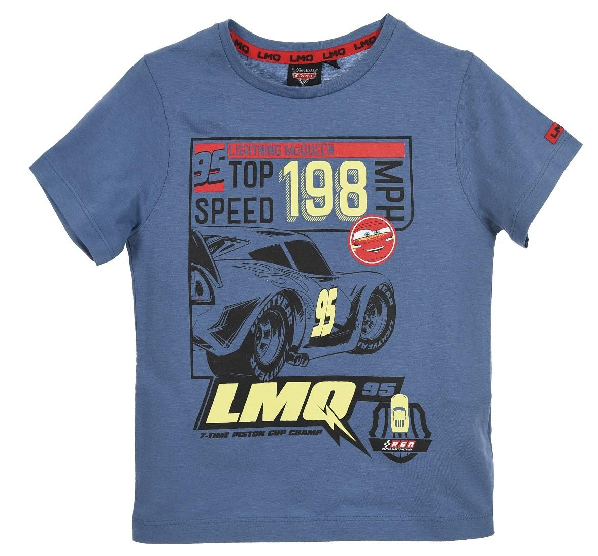 TRIČKO CARS svítící se 1227 modré