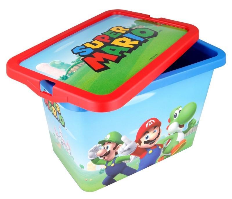ÚLOŽNÝ BOX SUPER MARIO